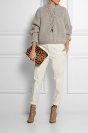 Isabel Marant Addy stretch-cotton twill boyfriend pants