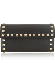 Valentino The Rockstud leather continental wallet