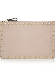 Valentino The Rockstud medium leather pouch