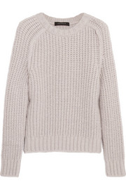 Cédric Charlier Chunky-knit alpaca-blend sweater