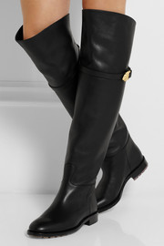 Valentino Animalia leather over-the-knee boots