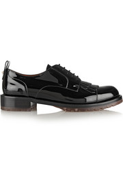 Valentino Formal patent-leather brogues