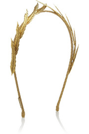 Jennifer Behr Eris gold-tone headband