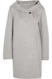 Jil Sander Hooded wool and cashmere-blend coat