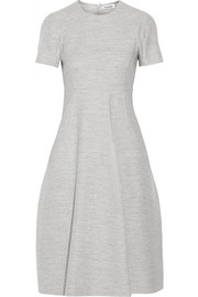 Jil Sander Wool and angora-blend dress