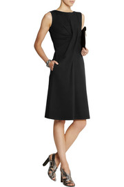 Jil Sander Gathered stretch modal-blend jersey dress