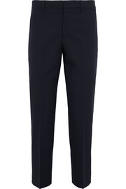 Jil Sander Wool-blend gabardine straight-leg pants