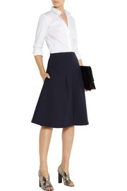 Jil Sander Stretch-ponte skirt