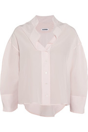 Jil Sander Sandy washed-silk shirt