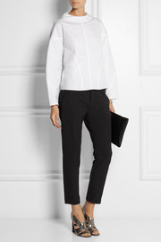 Jil Sander Oversized cotton-poplin top