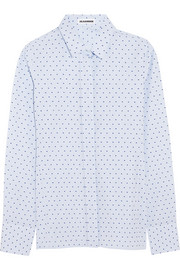 Jil Sander Fil coupé cotton shirt