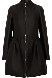 Valentino Pleated satin coat