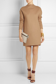Valentino Wool-blend felt mini dress