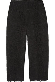 Valentino Cropped lace pants
