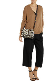 Marni Trunk leopard-print calf hair shoulder bag