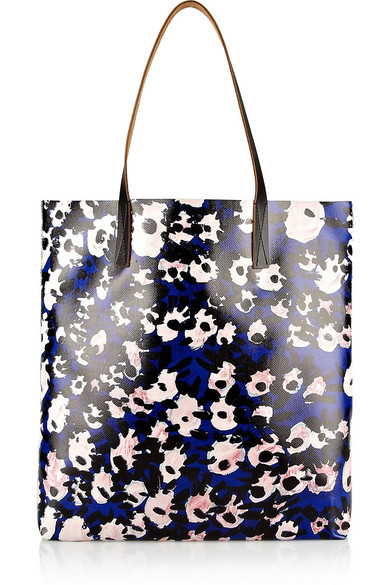 2df05d9ccc Marni. Printed coated-canvas tote