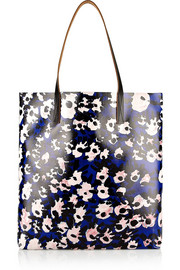 Marni Printed coated-canvas tote