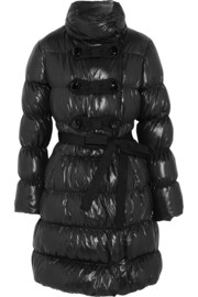 Moschino Cheap and Chic Quilted shell coat