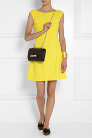 Moschino Cheap and Chic Wool-crepe dress