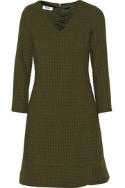 Moschino Cheap and Chic Textured-crepe dress