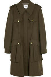 Moschino Cheap and Chic Wool-blend felt coat