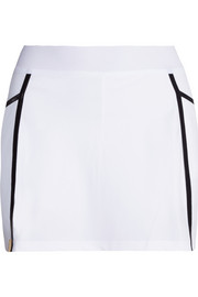 Monreal London Pleated back stretch-jersey tennis skirt