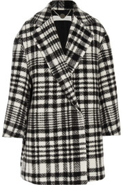 Stella McCartney Fonny oversized checked wool and alpaca-blend coat