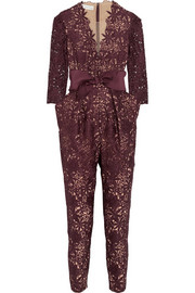 Stella McCartney Camelia guipure lace jumpsuit