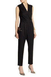 Stella McCartney Brandy wool-twill jumpsuit