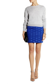 Stella McCartney Polka-dot scuba-jersey mini skirt