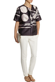 Stella McCartney Ileana printed satin top
