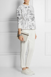 Stella McCartney Gary Hume intarsia cotton-blend sweatshirt
