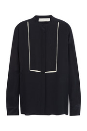Stella McCartney Caroline silk crepe de chine shirt