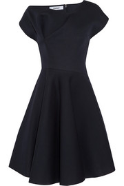 Chalayan Fluted scuba-jersey dress