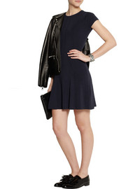 Karl Lagerfeld Nieve stretch-crepe mini dress
