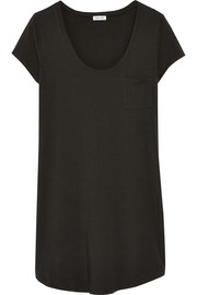 Splendid Stretch Supima cotton and modal-blend T-shirt dress
