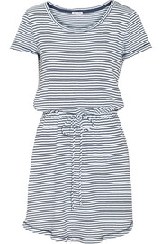 Splendid Striped cotton-jersey dress