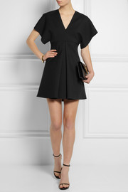 Saint Laurent Wool-gabardine mini dress