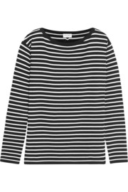 Saint Laurent Striped wool top