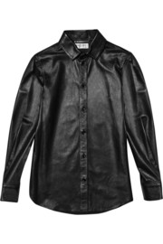 Saint Laurent Leather shirt