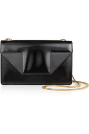 Saint Laurent Betty small patent-leather shoulder bag
