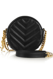 Saint Laurent Bubble small quilted leather shoulder bag