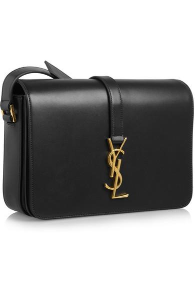 yves saint laurent mens wallets - Saint Laurent | Monogramme Sac Universit�� leather shoulder bag ...