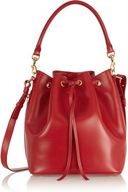 Emmanuelle medium leather shoulder bag