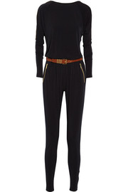 MICHAEL Michael Kors Belted stretch-jersey jumpsuit