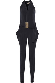MICHAEL Michael Kors Embellished stretch-jersey jumpsuit