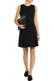MICHAEL Michael Kors Pleated stretch-crepe dress