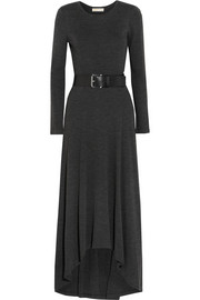 MICHAEL Michael Kors Belted jersey maxi dress