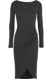 MICHAEL Michael Kors Ruched jersey dress