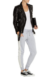 MICHAEL Michael Kors Cotton-blend jersey track pants